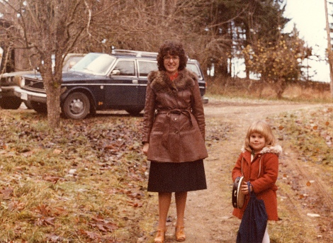 1978 with Shawna @ gramma's